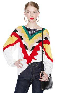 Mix a Lot Sweater
