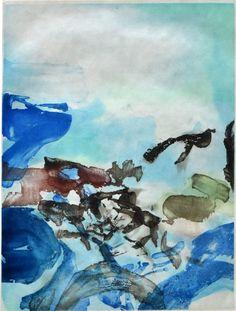 ZAO WOU-KI , Composition I, from Rambles | Randonnées, , 1974 | London Original Print Fair