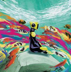 Nimit Malavia - ABZÛ, Vinyl cover art