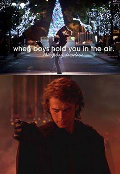 Unless it's Anakin.