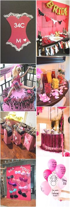 Got a bestie getting married soon? Throw her a prefect bachelorette party to let her remember forever! Planning a bachelorette party can bring quite pressure. There are so many preparations to be made… Bachelorette Party Checklist, Bachelorette Party Decorations, Party Favors, Bachelorette Weekend, Unique Bachelorette Party Ideas, Lingerie Party Decorations, Britt Bachelorette, Bachelorette Themes, Bridal Shower Party