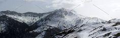 snowy mountains. Nature Photos