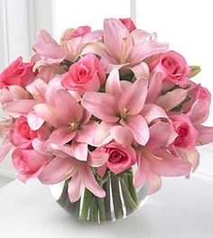 Pink Flowers whether they are in Pink Wedding Bouquets, Tropical pink floral arrangements or for greeting a new baby girl into the family are always perfect for all occasions with a touch of class.