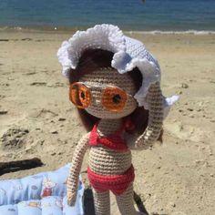 Amigurumi bambolina in bikini