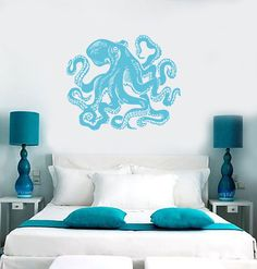 Our vinyl stickers are unique and one of a kind! Every sticker we sell is made per order and cut in house! We make our wall decals using superior quality interior and exterior glossy, removable vinyl Vinyl Wall Decals, Wall Sticker, Living Room Decor, Bedroom Decor, Condo Bedroom, Bedroom Ideas, Bedroom Stickers, Nautical Home, Beach House Decor