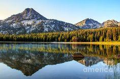 Wallowa mountains by Robert Bales, stunning!