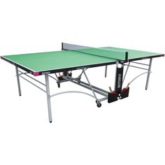 Butterfly Spirit 12 Outdoor Rollaway Table Tennis Table - Green f21be5c26b8b6