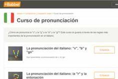 La pronunciación italiana