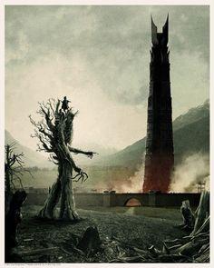 The Ents March on Isengard - Created by Matt Ferguson