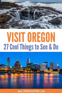 Oregon Travel Guide | Oregon bucket list | 27 cool things to do in Oregon | Oregon vacation | Plan a trip to Oregon