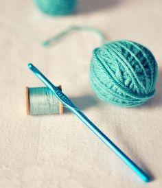Turquoise threads