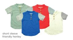 short sleeve friendly henley has arrived in new spring colours :) #liveinminimioche