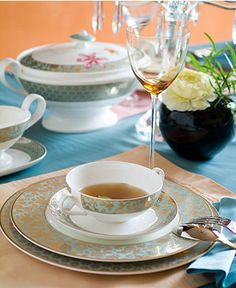 "Villeroy & Boch ""Aureus"" Dinnerware Collection - Casual Dining - Kitchen - Macy's"