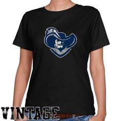 NCAA Xavier Musketeers Ladies Black Distressed Logo Vintage Classic Fit T-shirt - http://www.cincyshop.net/cincinnati-sports/xavier-university/ncaa-xavier-musketeers-ladies-black-distressed-logo-vintage-classic-fit-t-shirt/