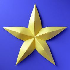 Modular origami: Stella convessa - Convex star by Francesco Guarnieri