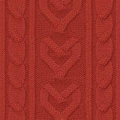Hearts cool knitting pattern