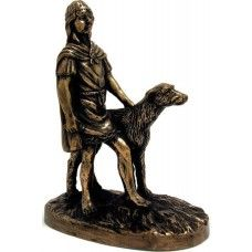 """Cú Chulainn- """" Loyal Companions""""  Cú Chulainn is a well loved character from Irish mythology. Known as Setanta as a child, he renamed himself Cú Chulainn (the hound of Culainn) after he killed Culainn's wolfhound. Cú Chulainn went on to defend Ulster from the armies of Queen Mebd of Connaught at the infamous battle of Cooley.  84.95 euro"""