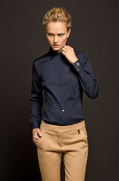 The Equestrian - Limited Edition Navy Shirt - Massimo Dutti - 2013