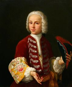 Young Knight of the Order of St John by Antonio David, c. 1730