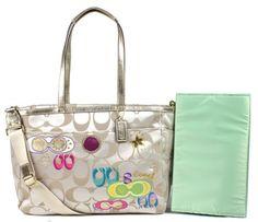 WANT!!! coach diaper bag
