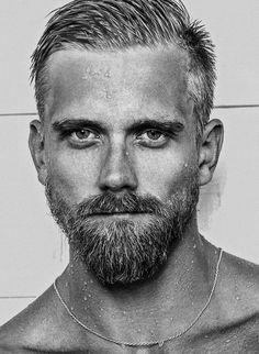 "Bartender: ""What would you like?"" Me: ""A full shot of him. Beard Styles For Men, Hair And Beard Styles, Beard No Mustache, Moustache, James Delaney, Goatee Styles, Red Hair Men, Viking Beard, Shirtless Hunks"