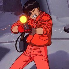 Kaneda from Akira. The man who defeated the Neo-Devil, Tetsuo. Old Anime, Anime Guys, Manga Anime, Anime Art, Fanarts Anime, Anime Characters, Shotaro Kaneda, Akira Kaneda, Katsuhiro Otomo