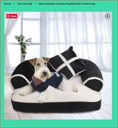 It is so comfortable and nice, that can be used at the living room to have your spoiled dog with his own couch. Esther Garcia, Lint Remover, Dog Bag, Fuzz, Pet Beds, Dog Stuff, Cute Dogs, Cushions, Kids Rugs