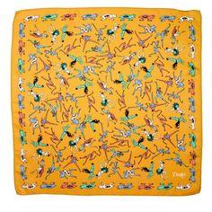 Drakes Josephine Baker Pocket Squares.