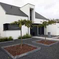 Front: minimalistische Häuser von Architektur Jansen