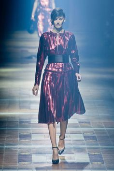 Lanvin Spring 2014 Runway Show | Paris Fashion Week |