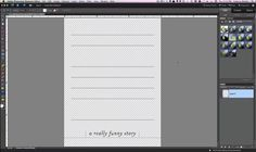 Lining up text blocks on journal card lines in PSE by Cathy Zielske. How to use a lined journal card file PNG and drop a text box that lines up on the lines perfectly.