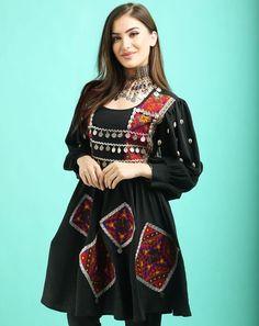 Indian Gowns Dresses, Indian Fashion Dresses, Girls Dresses, Afghan Clothes, Afghan Dresses, Designs For Dresses, Neck Design, Castor Oil, Stylish Girl