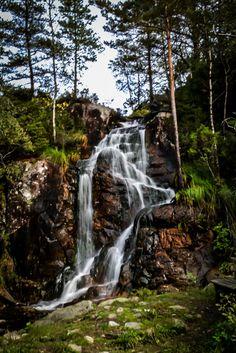 Upper falls, Tennebekktjorna Lk, Norway