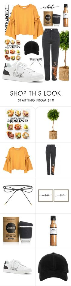 """Style of the day #15"" by dare2be-differen ❤ liked on Polyvore featuring Martha Stewart, MANGO, Topshop, Elizabeth and James, Pottery Barn, JOCO, Nicolas Vahé, ED Ellen DeGeneres and rag & bone"
