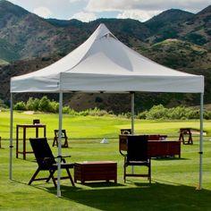 UnderCover 10 x 10 Professional-Grade Aluminum Instant Canopy & Caravan Canopy 10u0027 x 10u0027 ArchBreeze Instant Canopy | Instant ...
