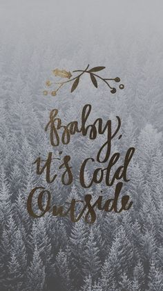 The most wonderful time of the year! - Baby, it's cold outside wallpaper Wallpaper Natal, Holiday Wallpaper, Christmas Wallpaper Iphone Tumblr, Christmas Lockscreen, Backgrounds Iphone Christmas, December Wallpaper Iphone, Winter Iphone Wallpaper, Wallpaper For Phone, Christmas Desktop