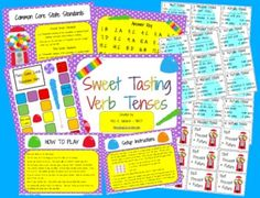 Your students will be sure to learn past, present, and future verb tenses (one of the new second and third grade common core standards) with this s...