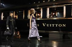 One of the best runway stages ever. Louis Vuitton fw 2012.