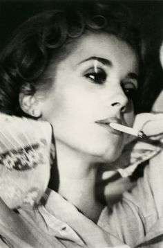 Catherine Deneuve by Helmut Newton