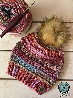 Cute Crochet, Crochet Crafts, Easy Crochet, Knit Crochet, Crochet Baby, Baby Hats Knitting, Knitted Hats, Knitting Patterns, Crochet Patterns