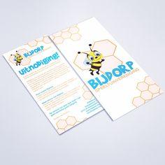 Ook de flyers voor speeltuin Bijdorp zijn inmiddels in druk! Ik heb er weer met veel plezier aan gewerkt! #kinderen #design #sassenheim www.omega-design.nl