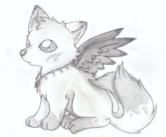drawings of a cute  wolf | Wolf Demon Akira by WolfGirlZoeyRide4 on deviantART