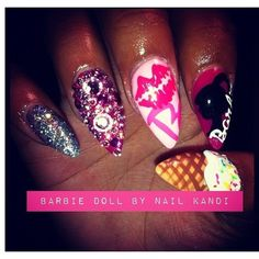 Stiletto Nails Nail Trends Nail Art ❤ liked on Polyvore featuring beauty products, nail care, nail treatments and nails