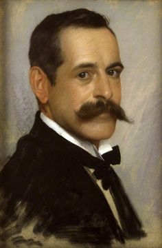 George Percy Jacomb-Hood (British, 1857-1929),Self-portrait.Pastel on buff-coloured brushed cotton. National Portrait Gallery, London.