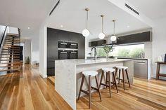 Loch 31 kitchen. Kitchen Time, Home Decor Kitchen, Home Kitchens, Kitchen Dining, Dream Home Design, House Design, Clever Kitchen Ideas, Little Dream Home, Home Interior