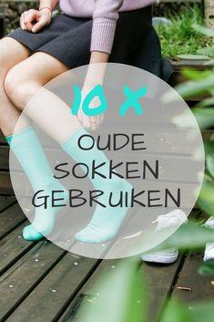 10 tips op oude sokken opnieuw te gebruiken