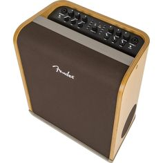 Fender Acoustic SFX Acoustic Guitar Amp - Andertons Music Co. Acoustic Guitar Amp, Fender Acoustic, Fender Guitars, Acoustic Architecture, Floor Standing Speakers, Digital Signal Processing, Boombox, Product Design, Bluetooth