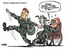 Eric Laplace - Placide  (2016-06-27) France: Marion Maréchal-Le Pen s'engage dans la réserve