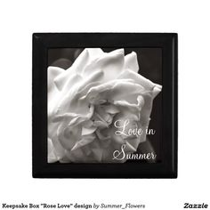 "Keepsake Box ""Rose Love"" design"