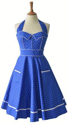 50s style dress - I remember my Mom wearing a dress quite similar to this exact dress.
